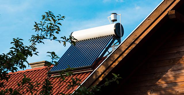 riscaldare casa senza gas pannello solare termico